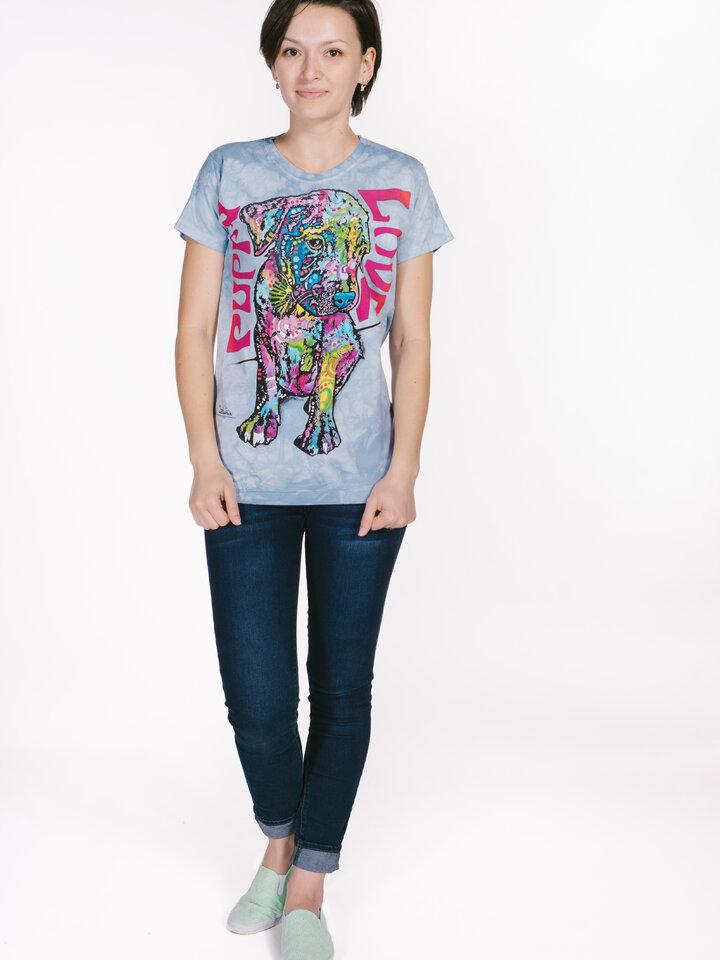 Eredeti ajándék a Dedolestől Russo kölyökkutya női póló