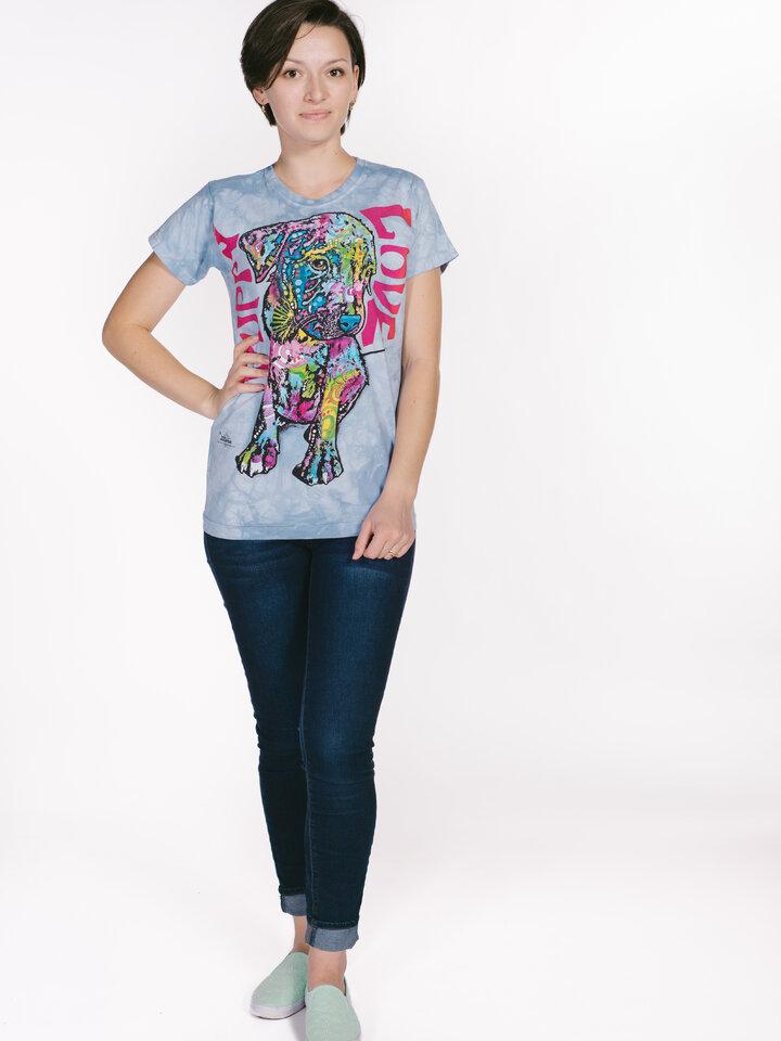 Foto Russo kölyökkutya női póló