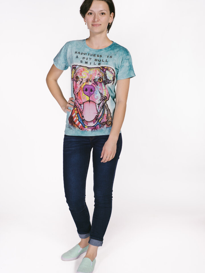 Pre dokonalý a originálny outfit Dámske tričko Russo Usmievajúci sa