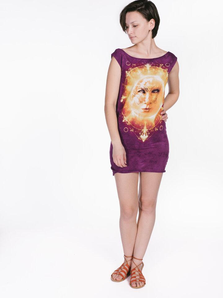 Wyprzedaż Sun Face  Mini Dress