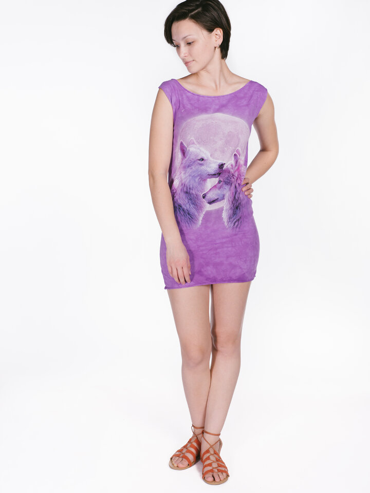 Pomysły na prezenty Loving Wolves  Mini Dress