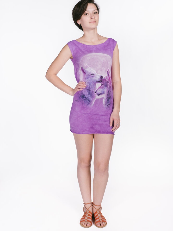 pentru outfit-ul perfect Loving Wolves  Mini Dress