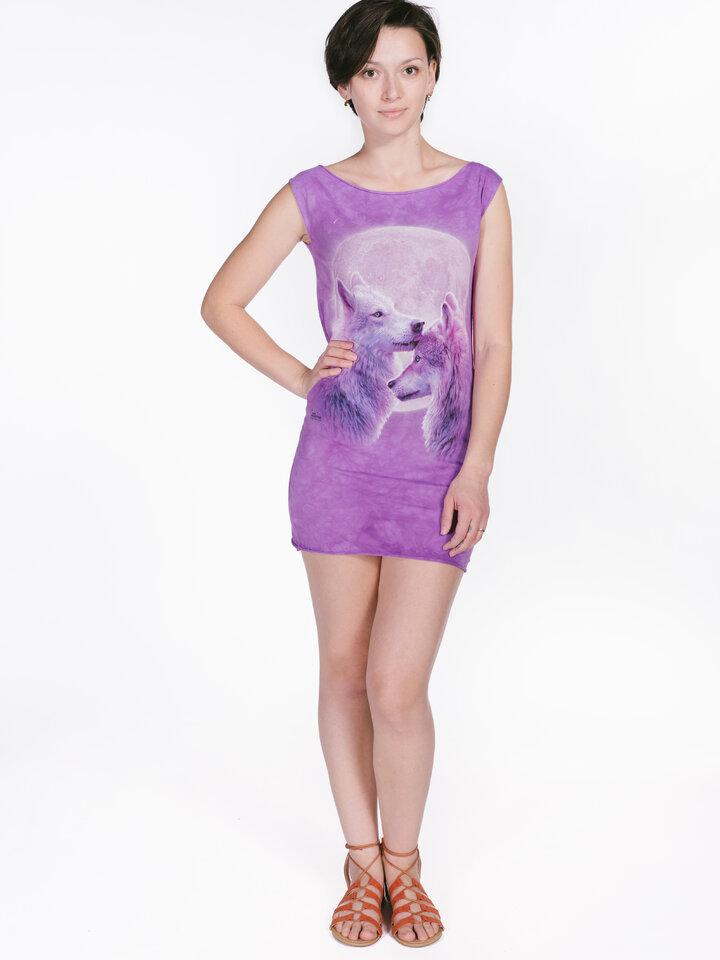 Faceți-vă o bucurie cu acest produs Dedoles Loving Wolves  Mini Dress