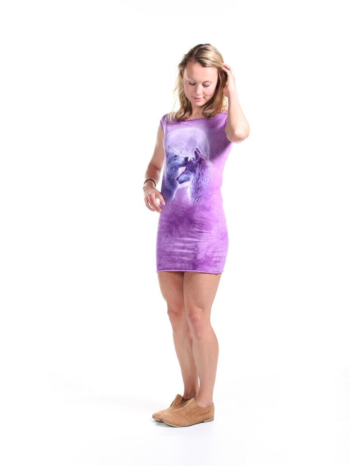 Reducerea Loving Wolves  Mini Dress