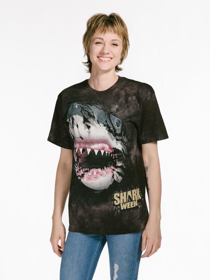 Cadou original de la Dedoles Shark Week Breakthru T Shirt