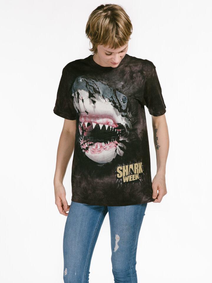 Indicație pentru cadou Shark Week Breakthru T Shirt