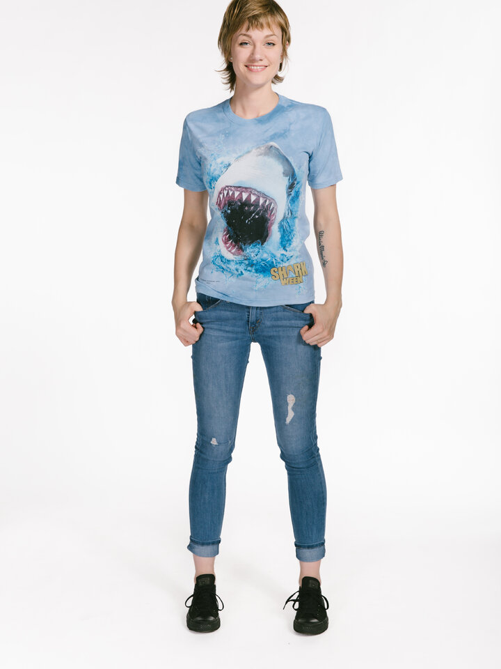 Looking for an original and unusual gift? The gifted person will surely surprise with Shark Feed Shark Week T Shirt
