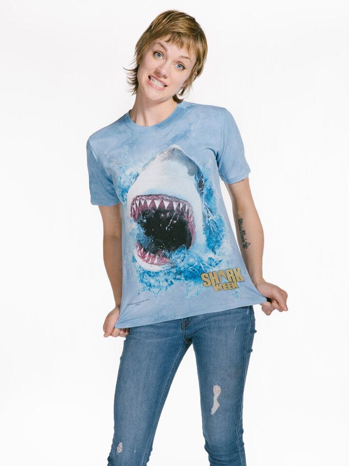 Výnimočný darček od Dedoles Shark Feed Shark Week T Shirt