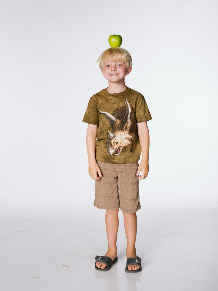 Hledáte originální a neobvyklý dárek? Obdarovaného zaručeně překvapí Tričko Hlava triceratopse