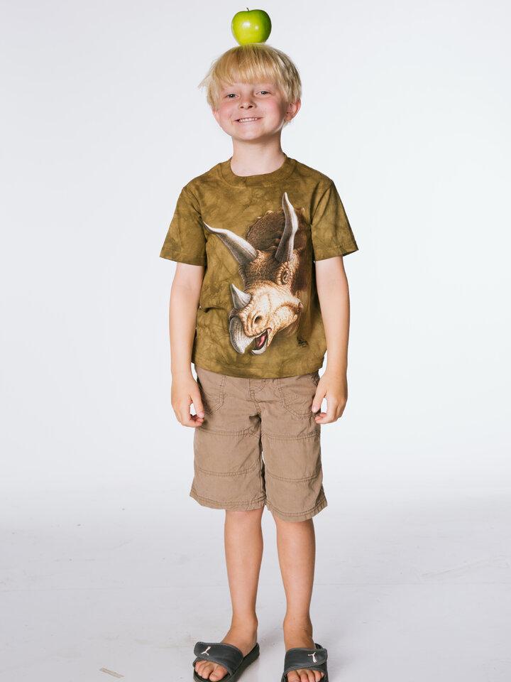 Potěšte se tímto kouskem Dedoles Tričko Hlava triceratopse