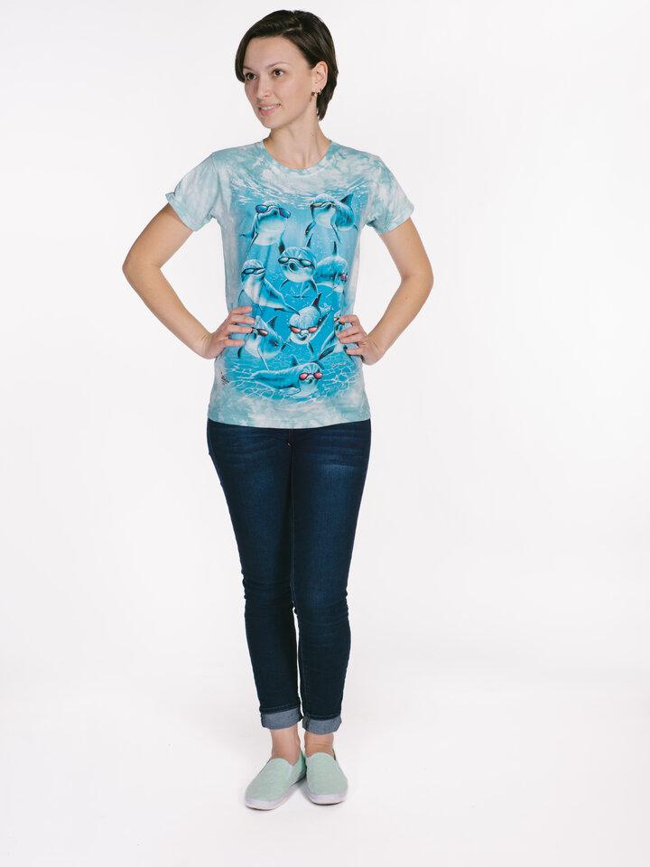 Ajándék tipp Cool delfinek női póló