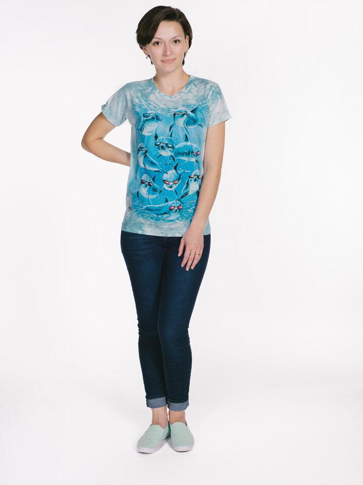 Szerezzen magának örömet ezzel a Dedoles darabbal Cool delfinek női póló