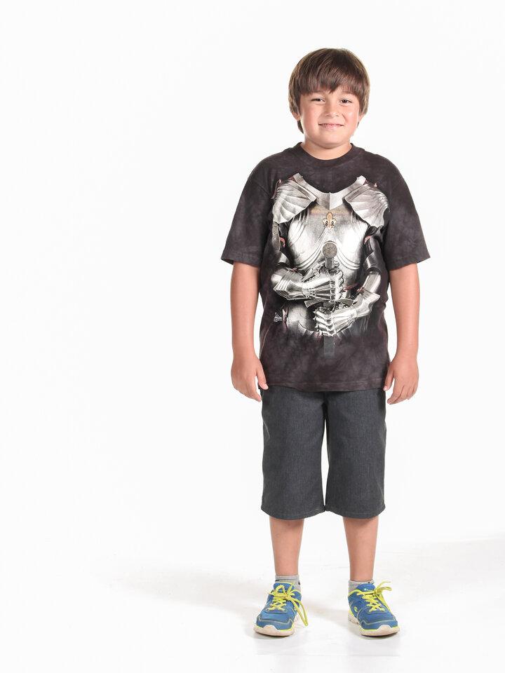 Výnimočný darček od Dedoles Detské tričko Telo brnenia