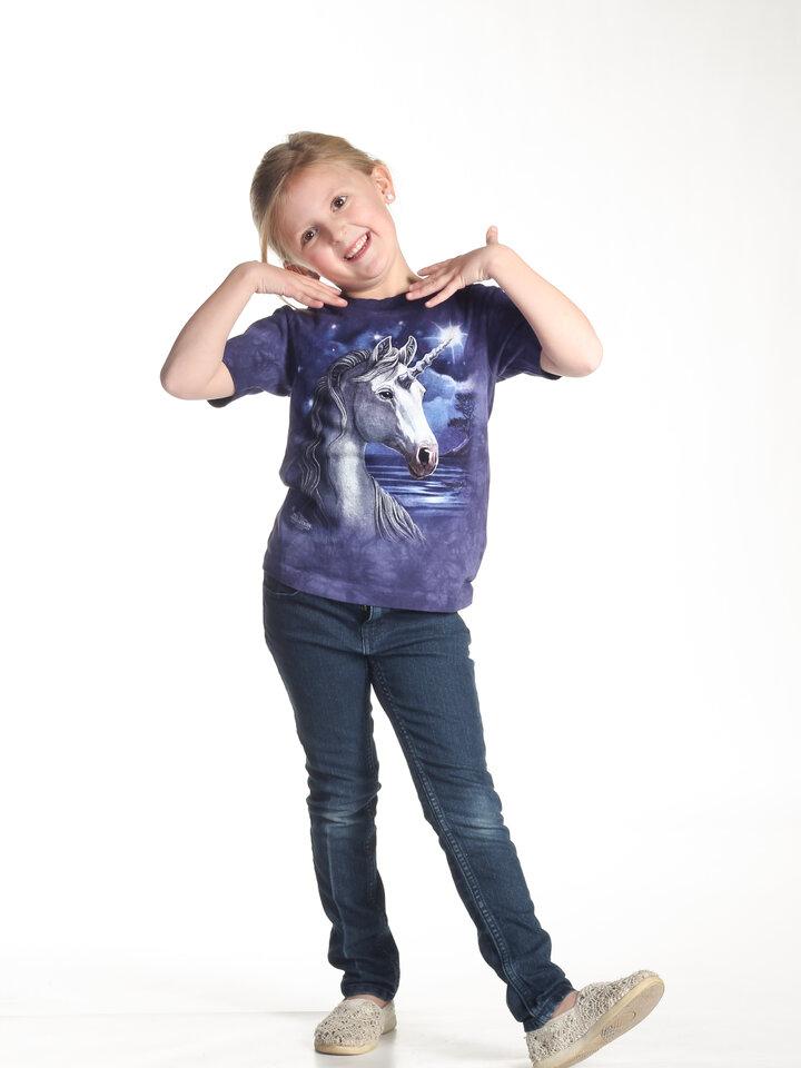 Obrázok produktu Tričko Jednorožec s hviezdou na čele - detské