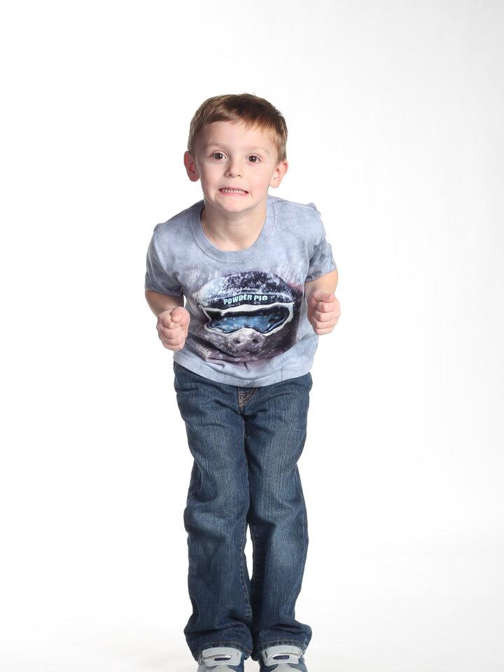 Tip na dárek Tričko Zasněžené prase - dětské