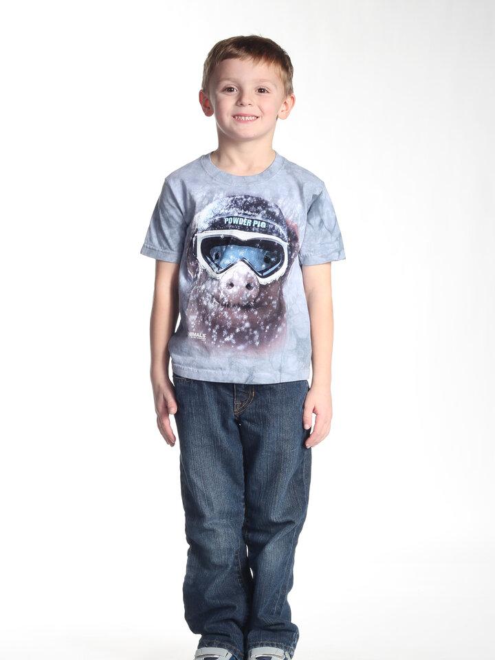 Foto Tričko Zasněžené prase - dětské