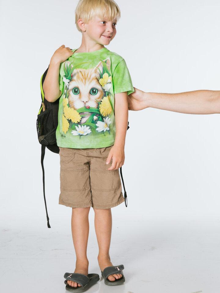 Pre dokonalý a originálny outfit Tričko Jarné mačiatko - detské