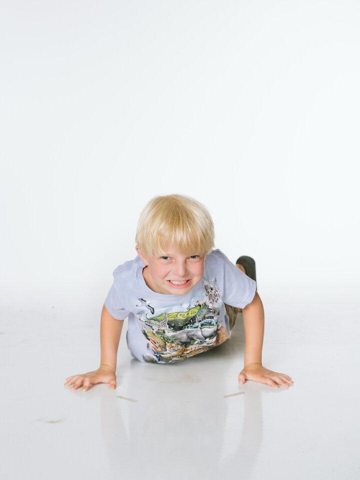 Výpredaj Tričko Zoo puzzle - detské