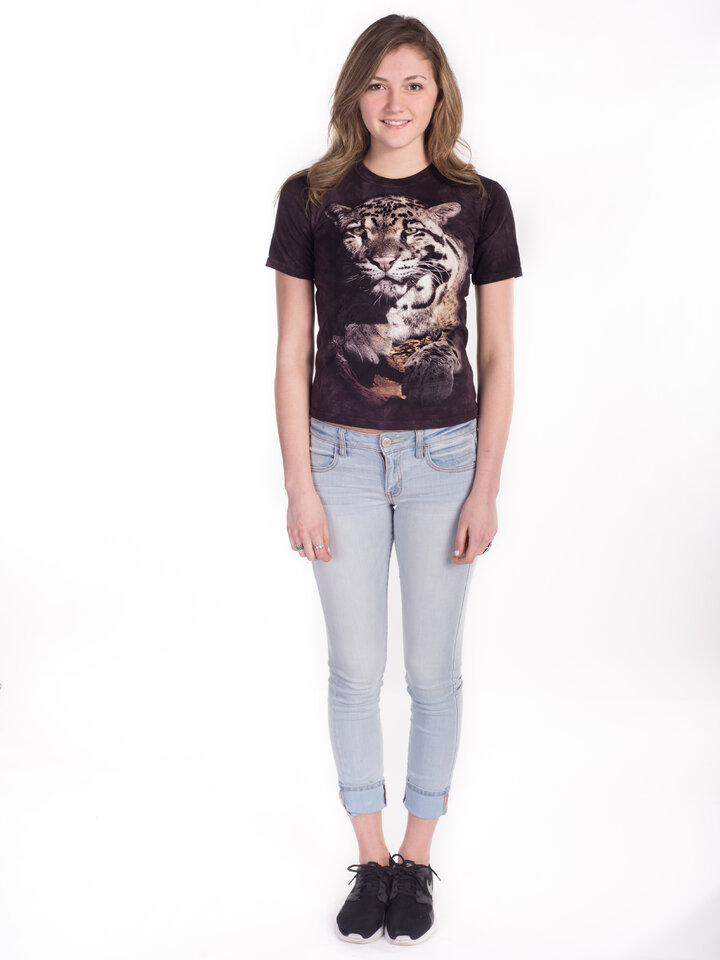 Výnimočný darček od Dedoles Tričko Leopard Obláčikový - detské