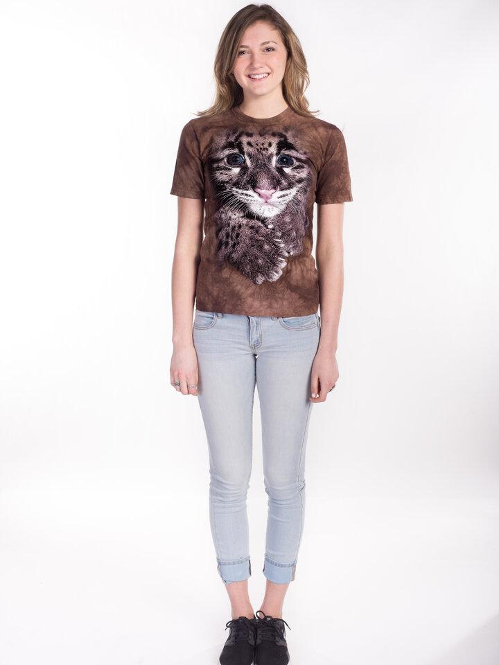 Výpredaj Tričko Mláďatko Leoparda Obláčikového - detské