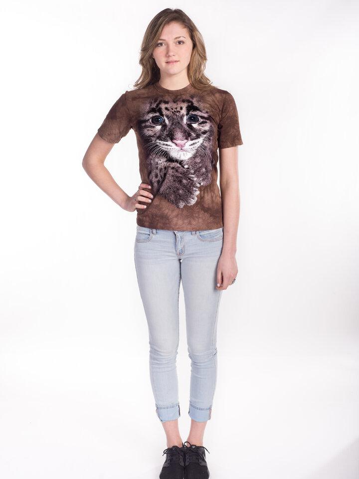 Pre dokonalý a originálny outfit Tričko Mláďatko Leoparda Obláčikového - detské