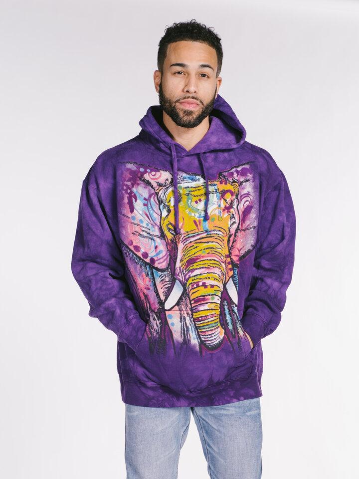 Geschenktipp Sweatshirt mit Kapuze Russo Elefant