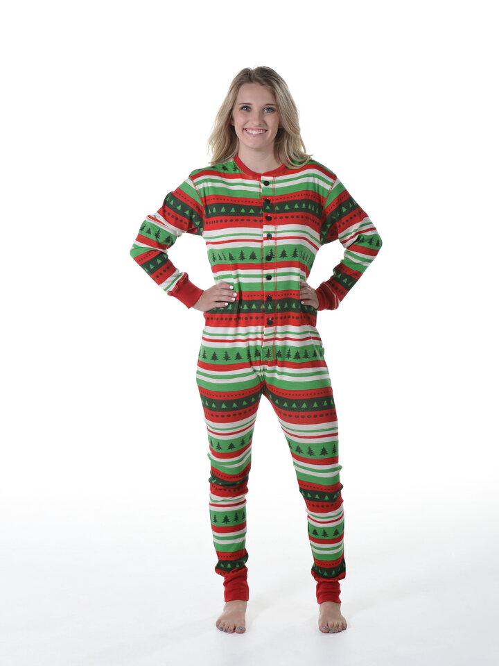 Pre dokonalý a originálny outfit Pyžamový overal Farebný les