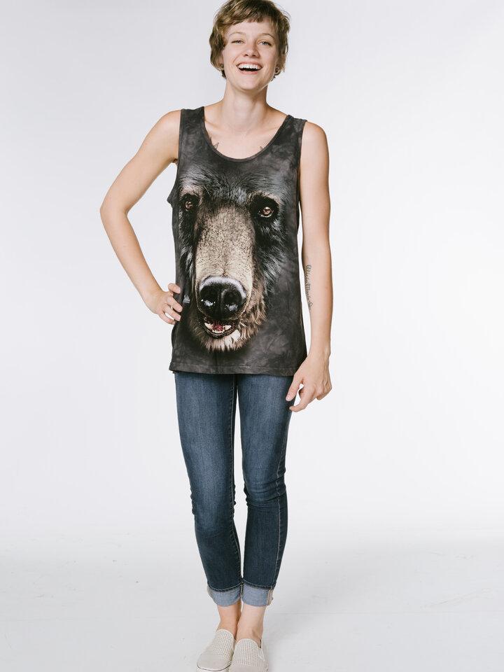 Potešte sa týmto kúskom Dedoles Black Bear Face  Unisex