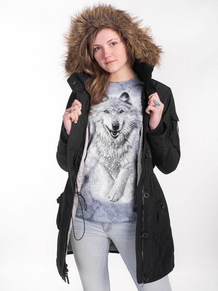 Tip na dárek Dlouhý rukáv Sněžný vlk