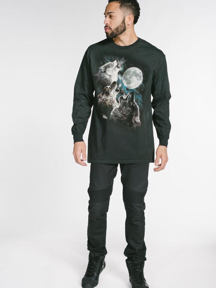 Căutați cadou unic și original? Va bucura enorm sărbătoritul 3 Wolf Moon  Adult Long