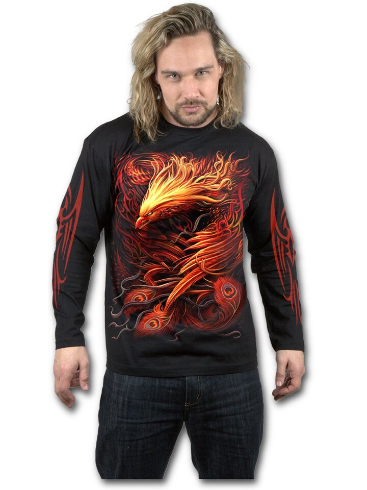 Sale Men's T-shirt with Long Sleeve Phoenix