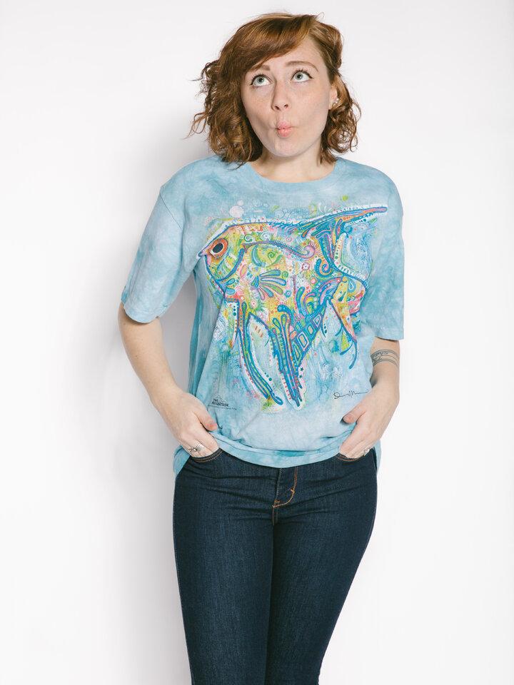 Suchen Sie ein originelles und außergewöhliches Geschenk? überrascht den Beschenkten sicher T-Shirt Russo Fisch