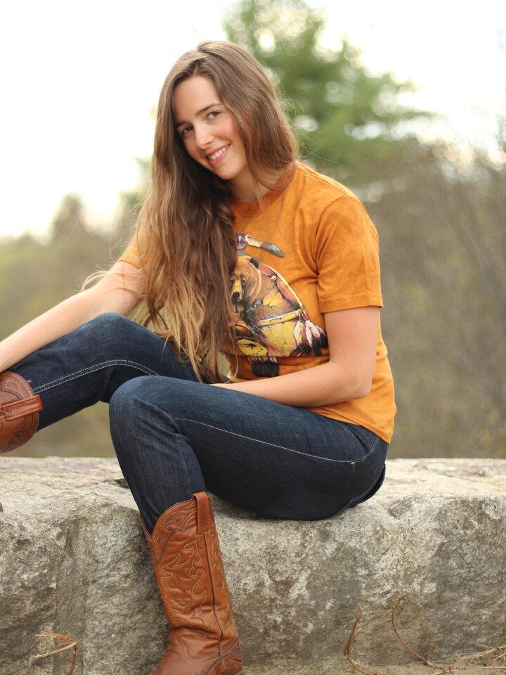 Suchen Sie ein originelles und außergewöhliches Geschenk? überrascht den Beschenkten sicher T-Shirt Collage Indianer Bär