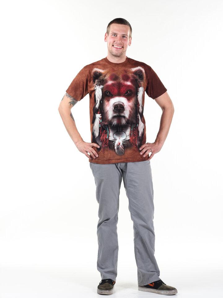 pro dokonalý a originální outfit Tričko Medvědí bojovník
