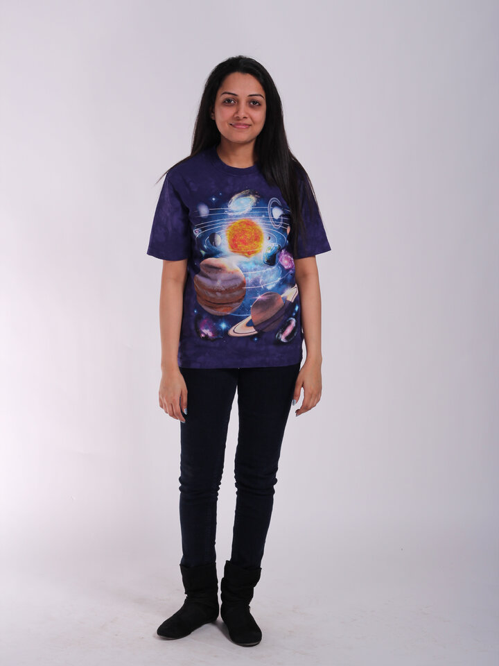 für ein vollkommenes und originelles Outfit T-Shirt Sonnensystem 2
