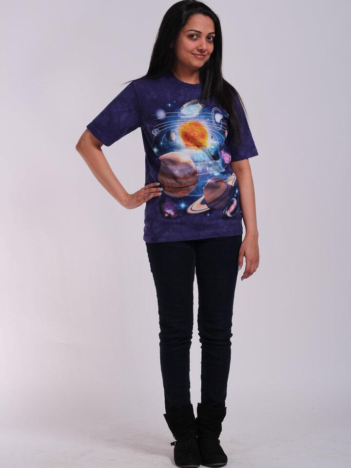 Suchen Sie ein originelles und außergewöhliches Geschenk? überrascht den Beschenkten sicher T-Shirt Sonnensystem 2