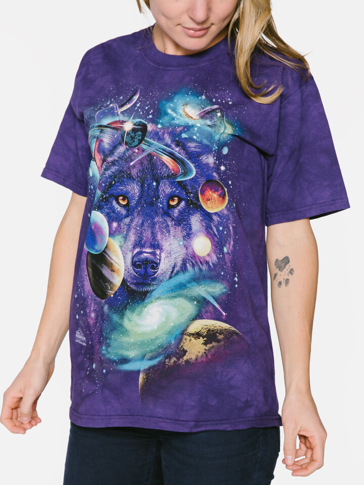 Indicație pentru cadou Tricou Wolf of the Cosmos