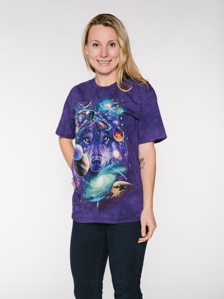 Lifestyle foto Tricou Wolf of the Cosmos