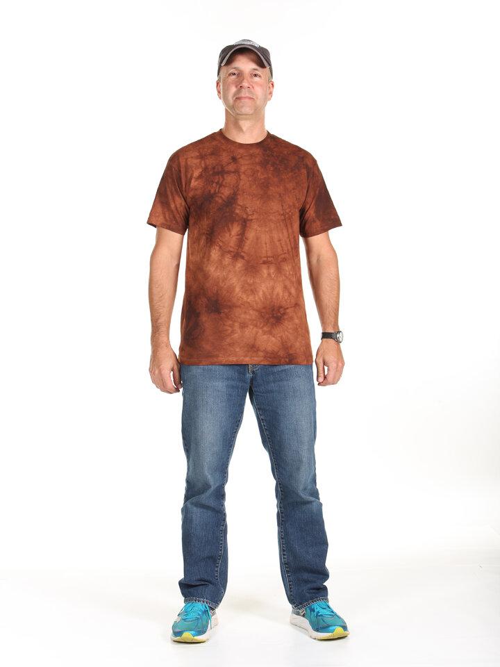 Rabatt T-Shirt Braun