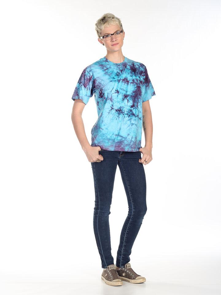 Lifestyle-Foto T-Shirt Gemischte Farben