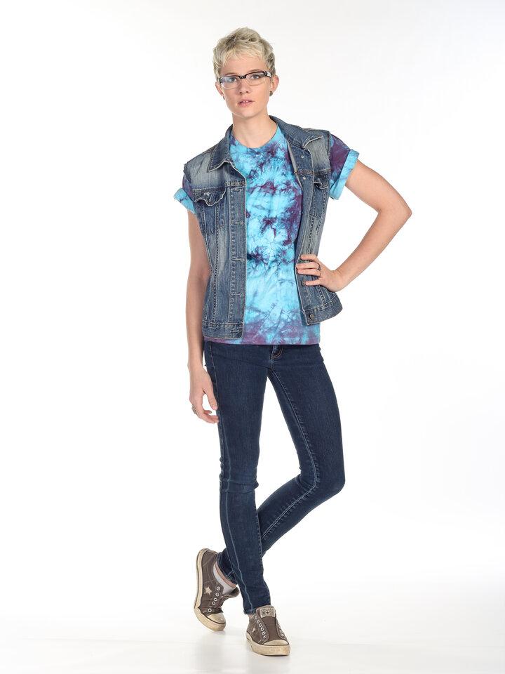 Foto T-Shirt Gemischte Farben