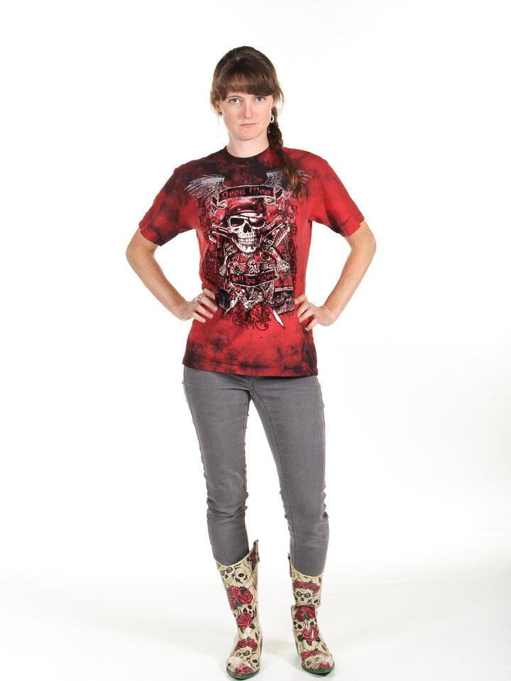 Foto T-Shirt Die Toten sprechen nicht