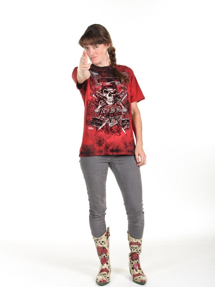Suchen Sie ein originelles und außergewöhliches Geschenk? überrascht den Beschenkten sicher T-Shirt Die Toten sprechen nicht