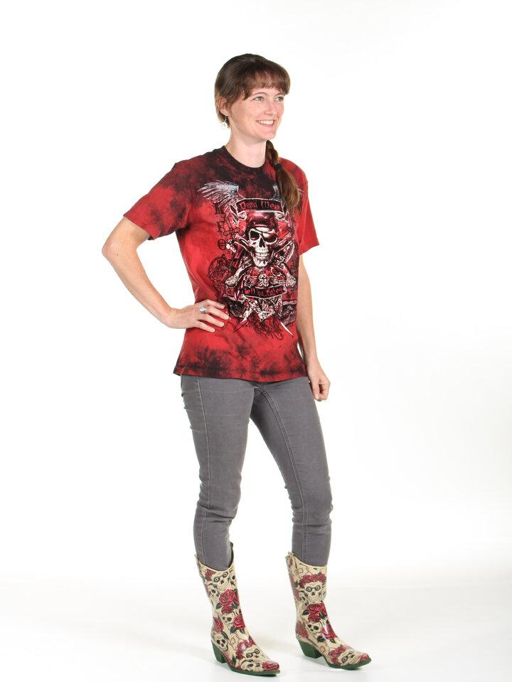 für ein vollkommenes und originelles Outfit T-Shirt Die Toten sprechen nicht