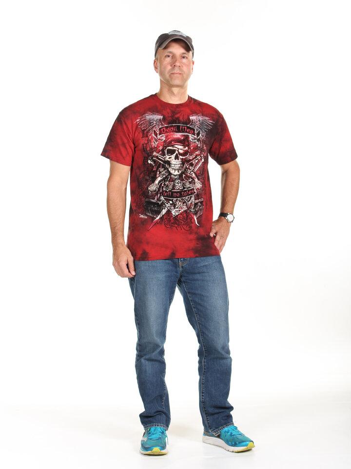 Geschenk von Dedoles T-Shirt Die Toten sprechen nicht