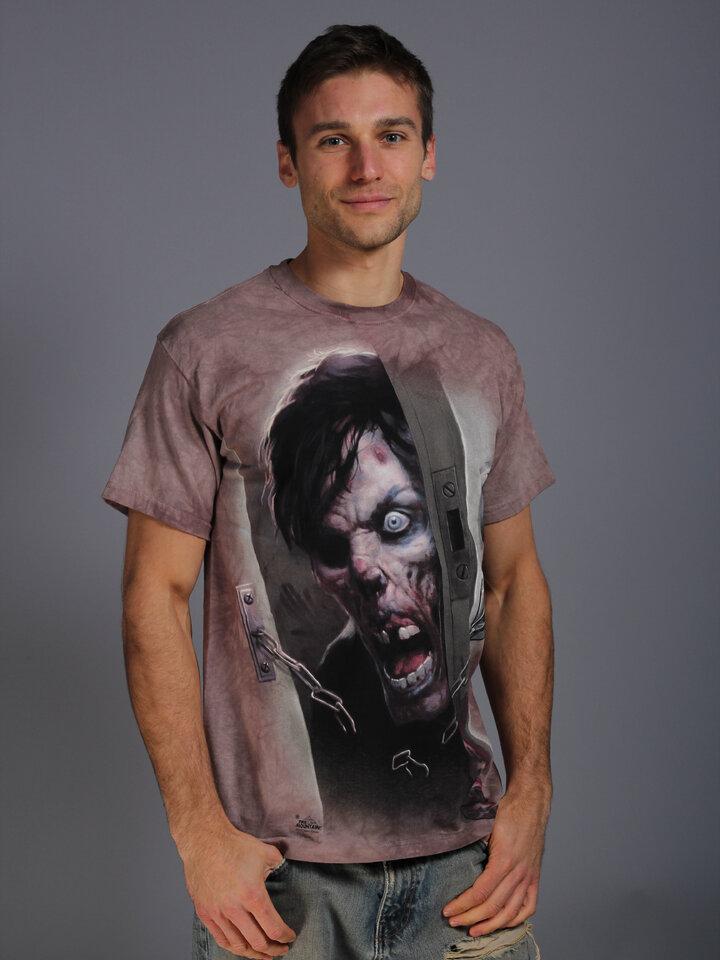 Zľava Tričko Zombie vo dverách