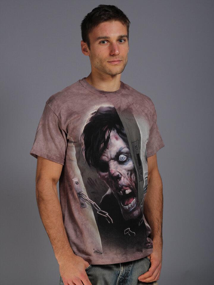 Výnimočný darček od Dedoles Tričko Zombie vo dverách