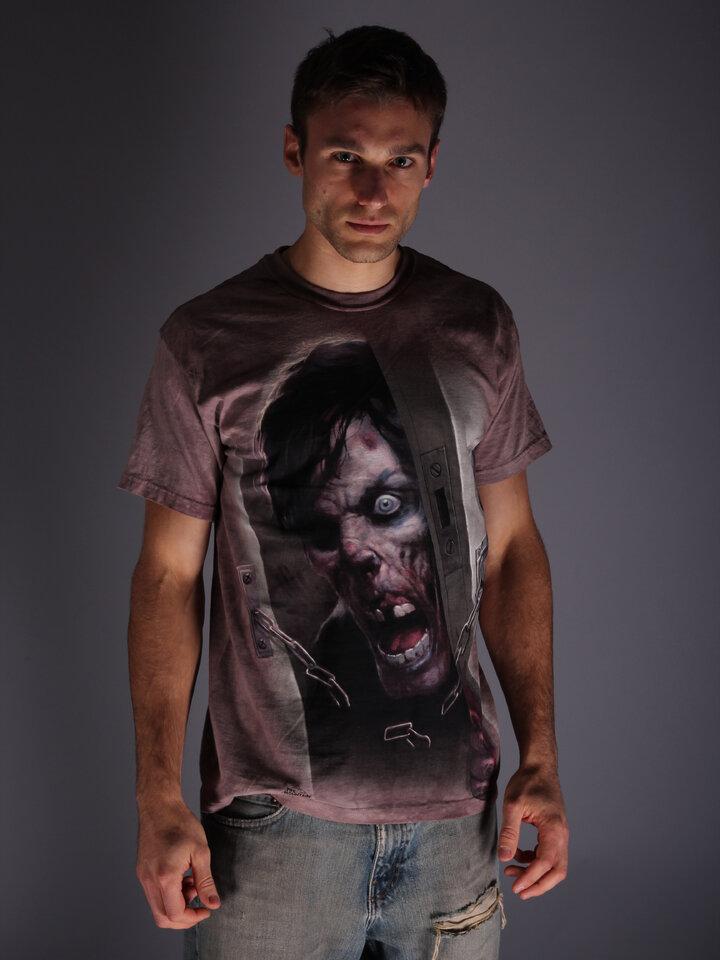 Tip na darček Tričko Zombie vo dverách