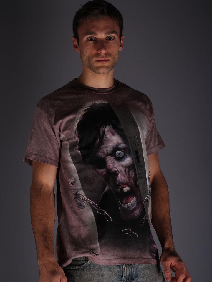 Výpredaj Tričko Zombie vo dverách