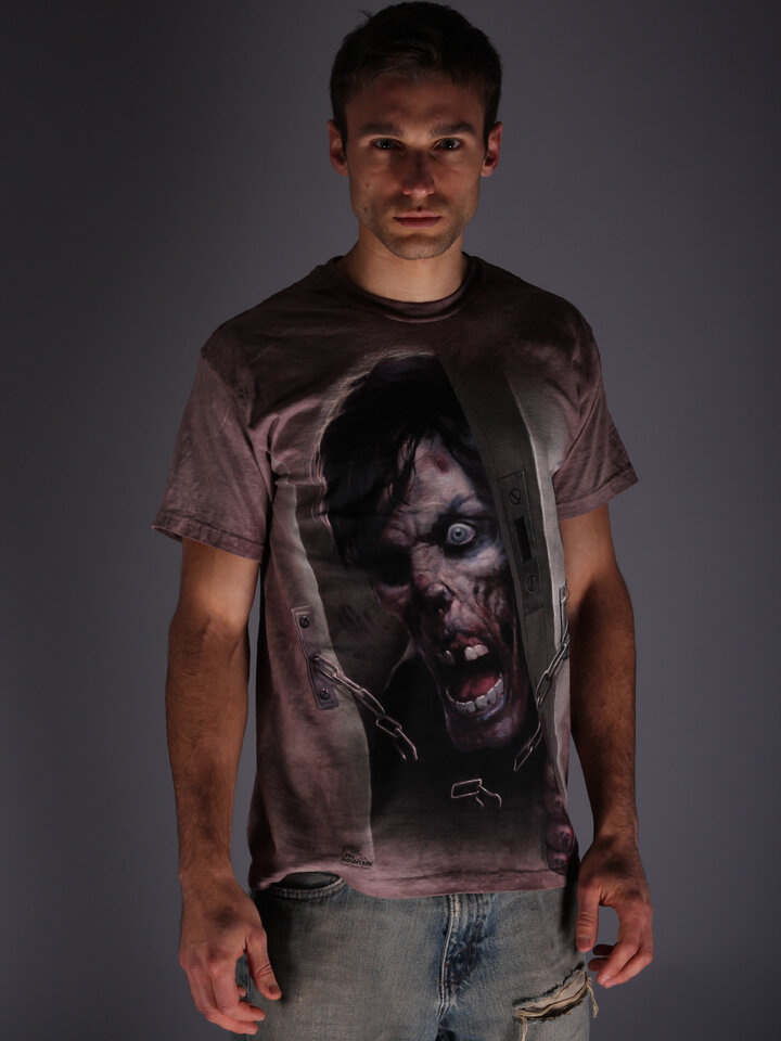 Obrázok produktu Tričko Zombie vo dverách